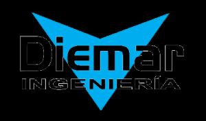 Logo Diemar Ingenieria Transparente Negro