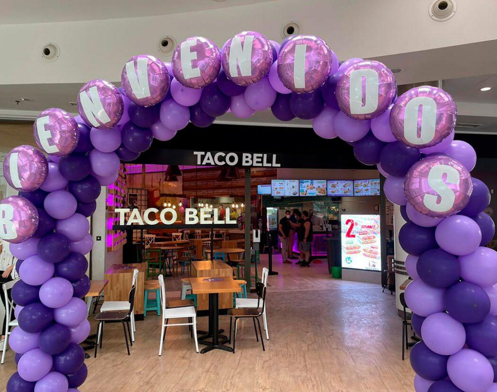 Inauguración Taco Bel En Santa Cruz De Tenerife