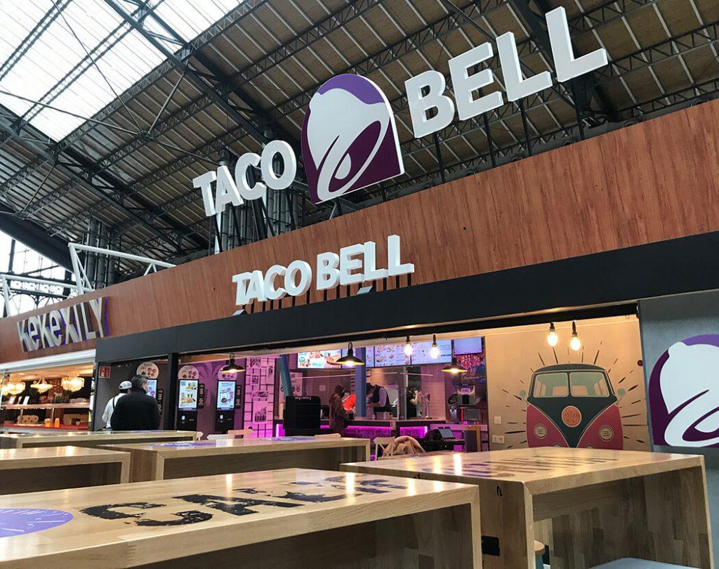 Taco Bell y Diemar. Franquicias de éxito en España.